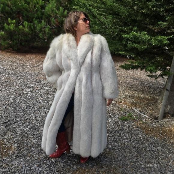 Neiman Marcus Jackets Amp Coats Silver Fox Fur Poshmark