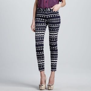 Beautiful Nanette Lepore Pop Art Print Pants