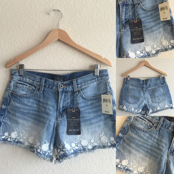 Off lucky brand pants new 💗 jean short