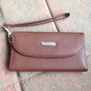 Baggallini Handbags - Baggallini Brown Wallet