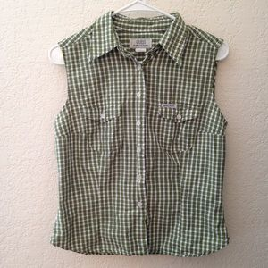 BOGO  90's Vintage Guess Plaid Top
