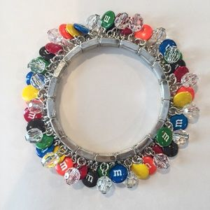 Other - M&M Stretch Shaky Charm Bracelet