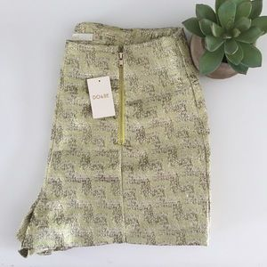Pants - ✨Metallic High Waisted Shorts with zipper Detail✨