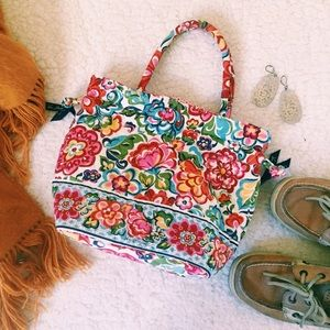 NWOT Vera Bradley Hope Garden Small Bag