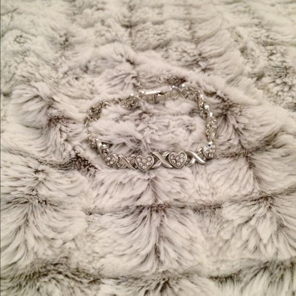 XOXO Silver Bracelet