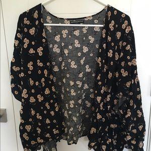 Floral Brandy Melville Kimono