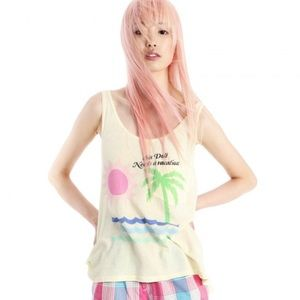 WILDFOX Lifeguard Tank  - NWT.