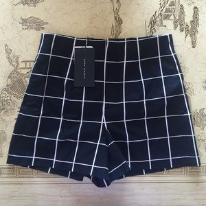 Zara Woman high waist shorts