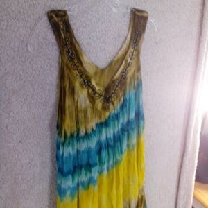 Tops - Summer blouse, flowy, like a large