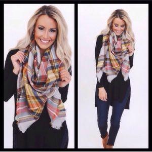 Accessories - ❣NEW❣ Plaid Oversized Tartan Blanket Scarves