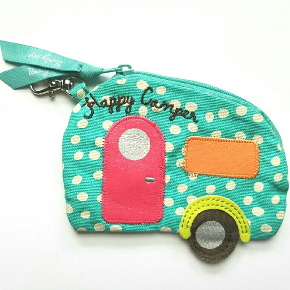 THIRTYONE \'Happy Camper\' icon coin purse