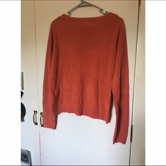 42% off Forever 21 Sweaters - Cute orange sweater from Destinée's ...