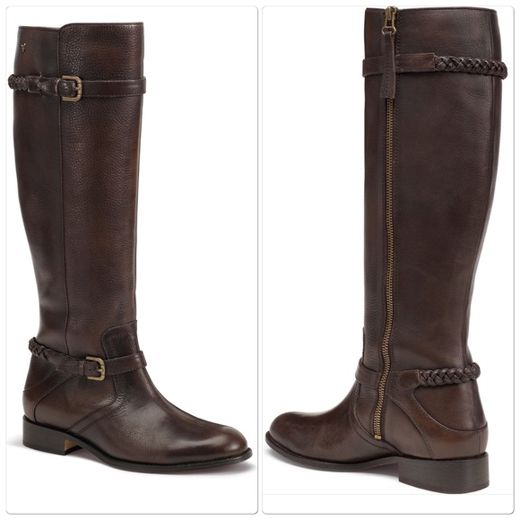 44% off Trask Shoes - Trask BRAND NEW tall Italian leather boots ...