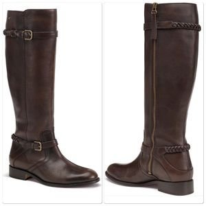 Trask Shoes - Trask BRAND NEW tall Italian leather boots