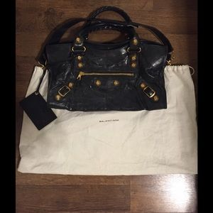 AUTHENTIC Balenciaga Giant City Bag