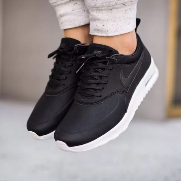 the latest d487e a318c Women s Nike Air Max Thea Premium Sneakers