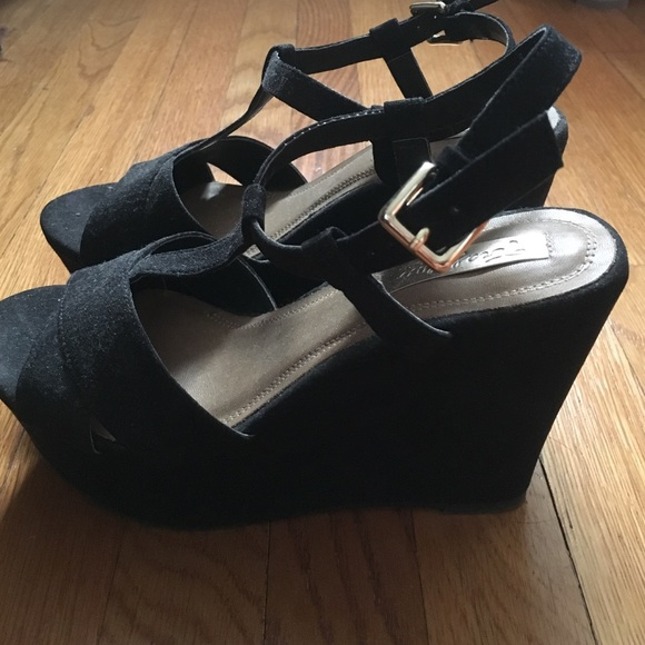 66ca4fc6191b Zara trafaluc black wedges. M 57b657acd14d7bfdb5002656. Other Shoes ...