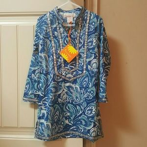 Masala Baby Other - Masala Baby - Paisley Toddler Tunic