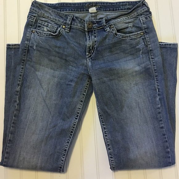 84% off Silver Jeans Denim - Silver Jeans Eden size w32/l31 from