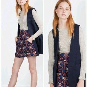Zara Jackets & Blazers - 🌟🌟HOST PICK🌟🌟Zara Wool Masculine Waistcoat