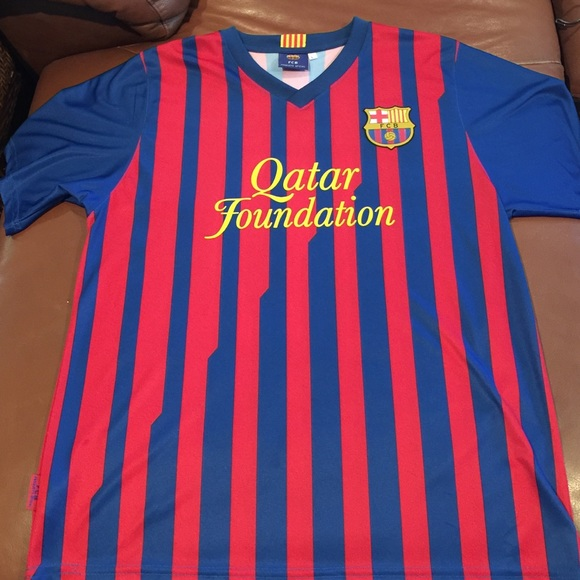 low priced 21367 19167 Official FCB Messi Qatar Soccer Jersey