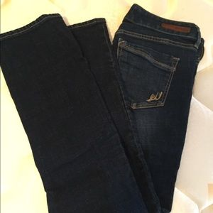 Express Stella Barely Boot jeans in 2s