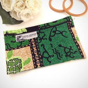 3 FOR $20 tribal print zipper coin purse