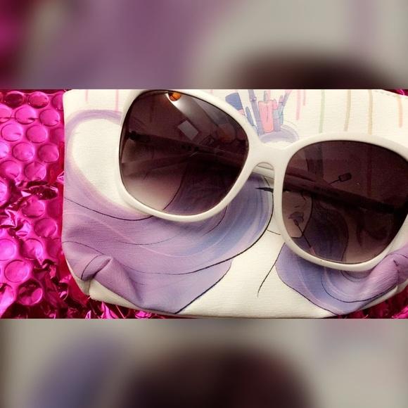 bf9ae9aead9 AJ Morgan Distinctive Eyewear Accessories - Chunky Square Sunglasses