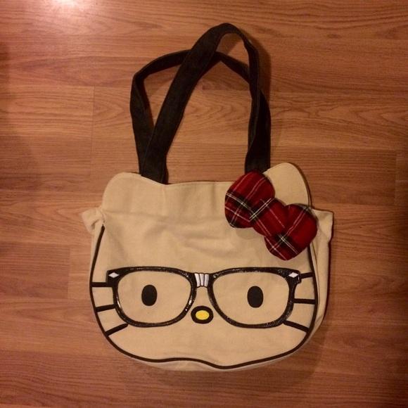 320b94164775 Hello Kitty Handbags - Hello Kitty Nerd Bag