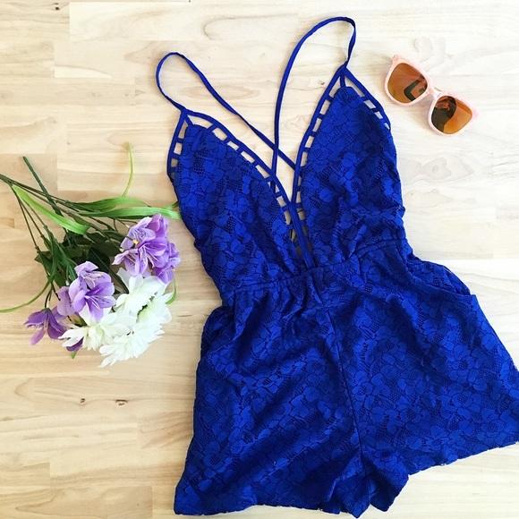 Citrus and Lavender Lane Dresses & Skirts - The Cora Royal Romper