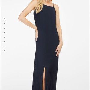 🎈🌟Massimo Dutti navy blue long dress