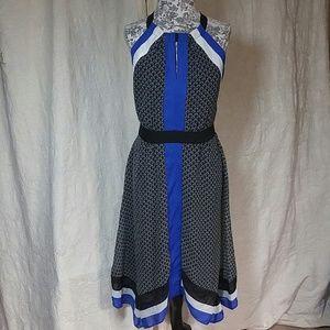 Ice Dresses & Skirts - Ice Black Blue & White Dress