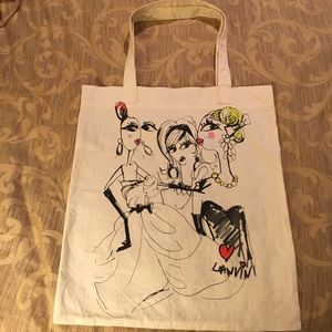 Lanvin Handbags - Lanvin H&m UNICEF tote bag HTF Collectible