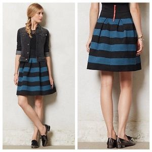 Girls from Savoy Scalloped Ponte Skirt