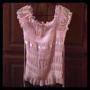 Vanity blouse. Sz s. Super cute.