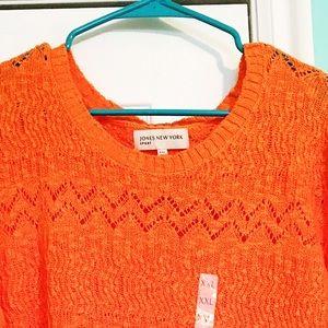 Jones New York Sweaters - NWT Jones New York Sunset Orange Sweater