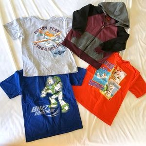 New without tags 3 Disney T-Shirts Sz 7/8 hoodie