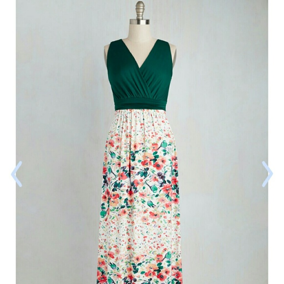 Plus size maxi dress from Modcloth