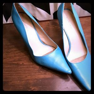Cabrini Shoes - light blue sz10 high heels