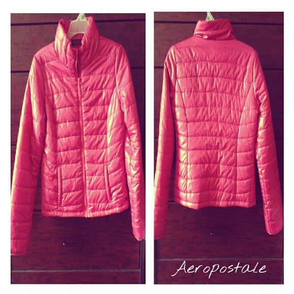 Aeropostale - Aeropostale hot pink bubble coat from K.'s closet on ...