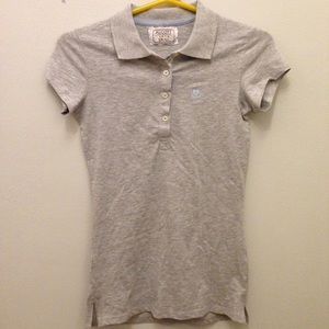 Alcott Tops - BRAND NEW grey polo shirt