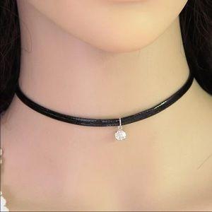 amannequin Jewelry - Choker Sale! 10 for $25✨Elin Blk Rhinestone Choker