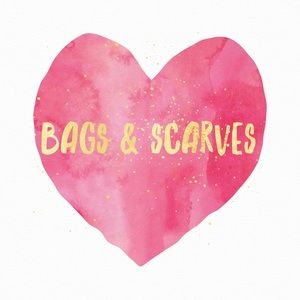Bags and scarves below!