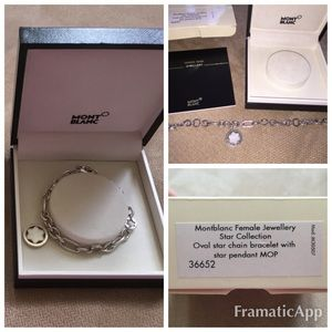 Montblanc Jewelry - 100% authentic Montblanc sterling silver bracelet