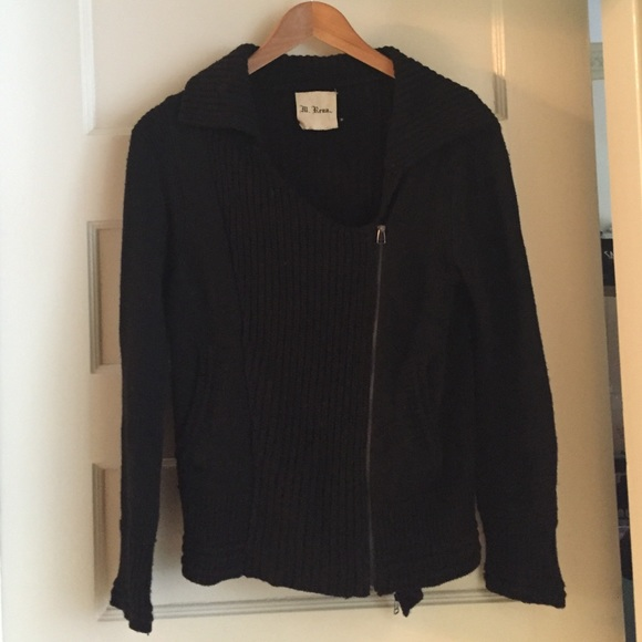 Sweaters - Ill Rena Motorcycle Sweater Double Zip M