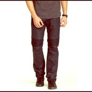 Request Jeans  Other - ⚡️PRICE DROP⚡️Black coated Biker Jeans