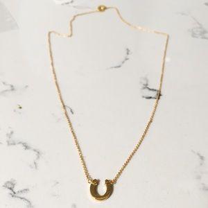 Gorjana Jewelry - Gorjana horseshoe necklace in gold - NWT