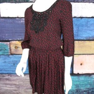 Flying Tomato Dresses & Skirts - Flying Tomato Black Confetti Embellished Dress S