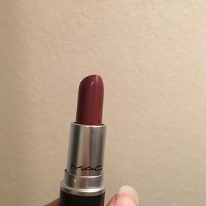 mac cosmetics mac satin lipstick mac red from ari 39 s closet on poshmark. Black Bedroom Furniture Sets. Home Design Ideas