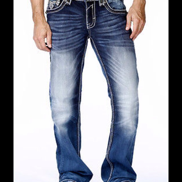 53% off Rock Revival Other - Mens Rock Revival designer denim ...